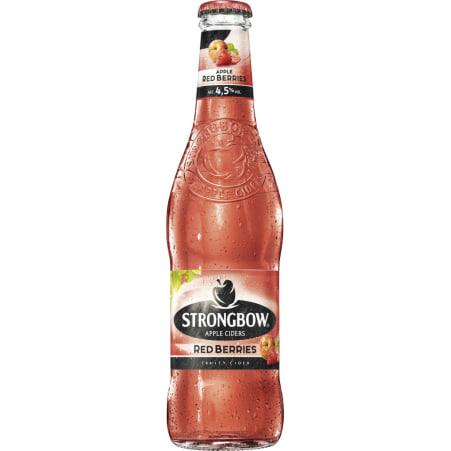 Strongbow Cider Red Berries 0,33 l Einweg
