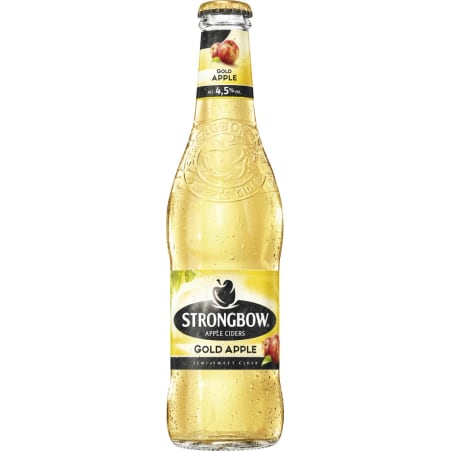 Strongbow Apple Cider Gold 0,33 l Einweg
