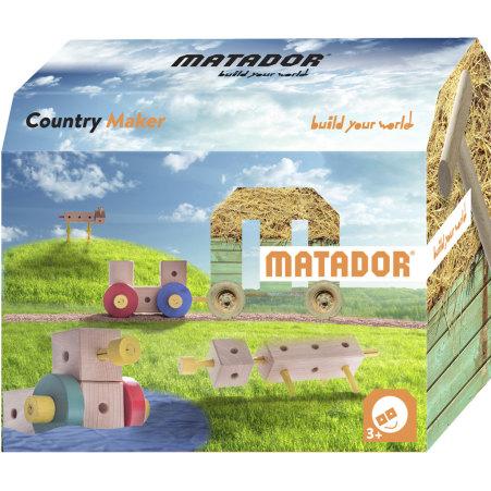 MATADOR Holzbaukasten Country Maker