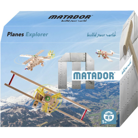 MATADOR Holzbaukasten Planes Explorer