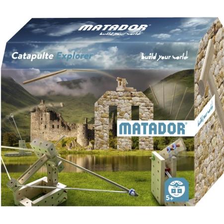 MATADOR Holzbaukasten Catapult Explorer