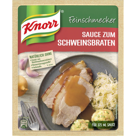 Knorr Feinschmecker Sauce Schweinsbraten