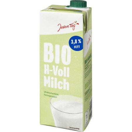 Jeden Tag Bio H-Milch 3,8 %