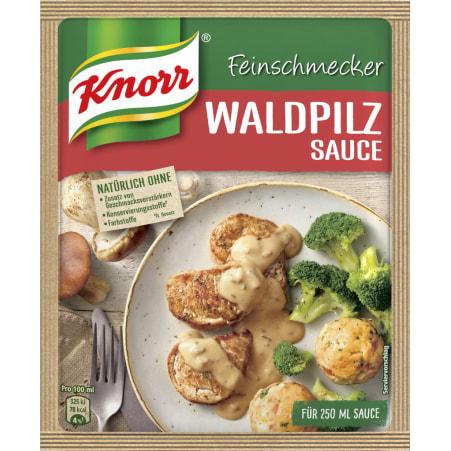 Knorr Feinschmecker Sauce Waldpilz