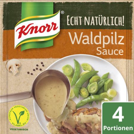 Knorr Echt Natürlich Waldpilzsauce