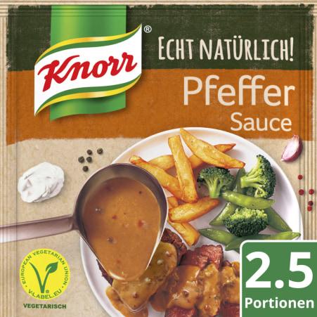 Knorr Echt Natürlich Pfeffersauce