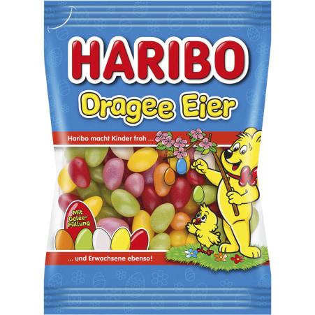 HARIBO Dragee Eier Geleefüllung