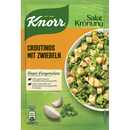 Knorr Croutinos mit Zwiebel