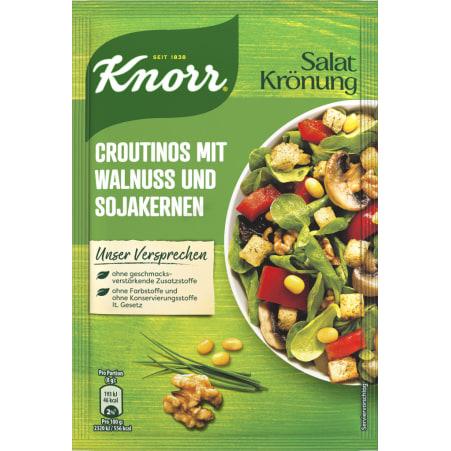 Knorr Croutinos mit Walnuss und Sojakernen