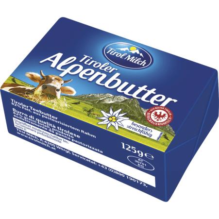 Tirol Milch Alpenbutter 125 gr