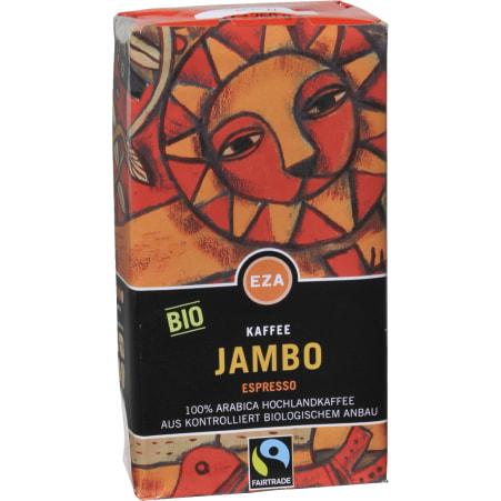 EZA Bio Kaffee Jambo Espresso gemahlen