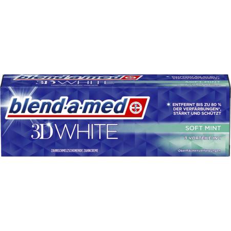 Blend-A-Med Zahnpasta 3D White Soft Mint