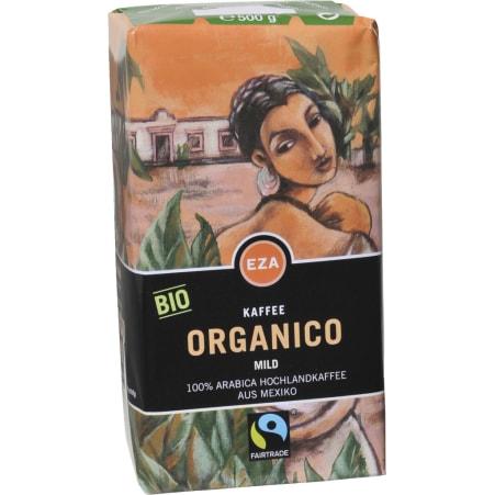 EZA Bio Kaffee Organico Mild gemahlen