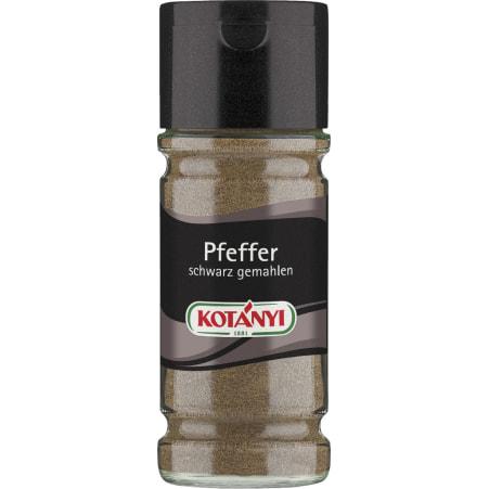 Kotányi Pfeffer schwarz gemahlen 58 gr