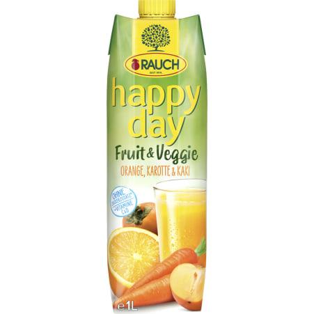 Rauch Happy Day Fruit&Veggie Oran.Kar.Kaki 1L