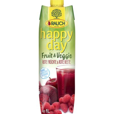 Rauch Happy Day Fruit&Veggie R.Fr.R.Beete 1L