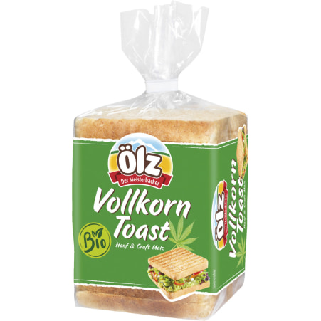 Rudolf Ölz Meisterbäcker GmbH & Co KG Bio Vollkorn Toast Hanf & Craft Malz