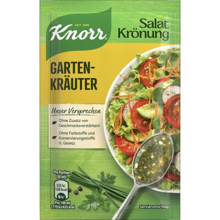 Knorr Salatkrönung Salatdressing Gartenkräuter
