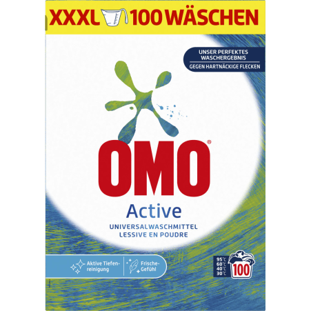 Omo Aktiv 100 Waschgänge