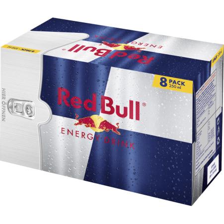 Red Bull Energy Drink 8er-Packung