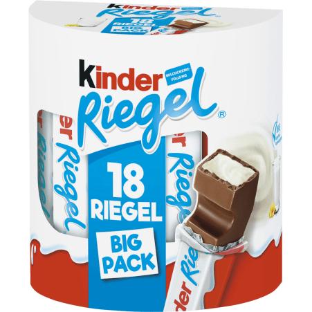 Ferrero Kinder Riegel 18er-Packung