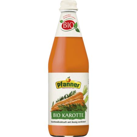Pfanner Bio Karottensaft 100% 0,5 Liter