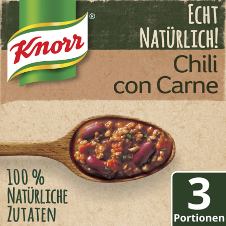 Knorr Echt Natürlich Chili con Carne