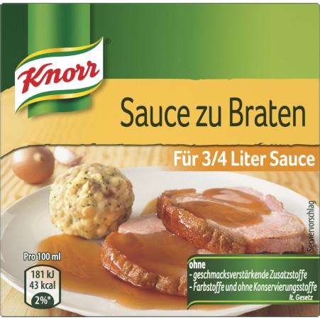 Knorr Bratensaft Großpackung