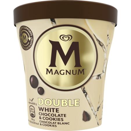 Magnum Magnum White Choco & Cookies Becher