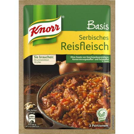 Knorr Basis Serbisches Reisfleisch