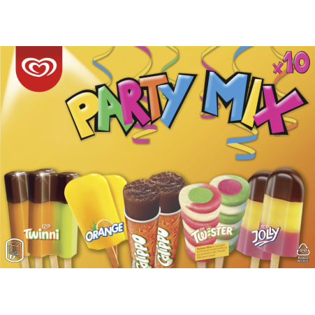 ESKIMO Party Mix Eis 10er-Packung