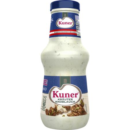 Kuner Kräuter-Knoblauch Sauce