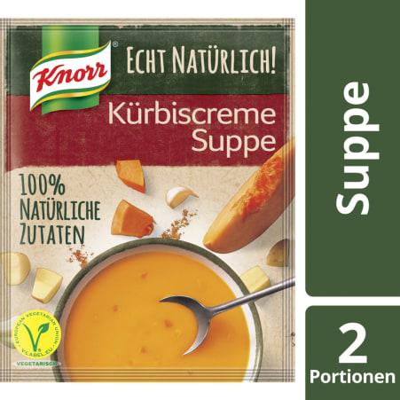 Knorr Echt Natürlich Kürbiscremesuppe