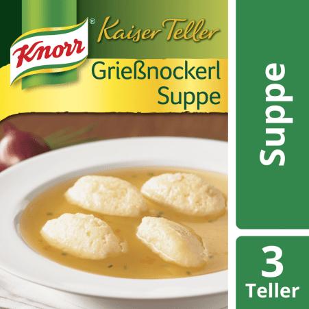 Knorr Kaiser Teller Grießnockerlsuppe