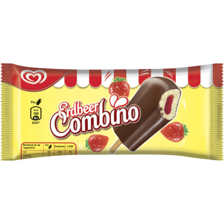 ESKIMO Erdbeer Combino