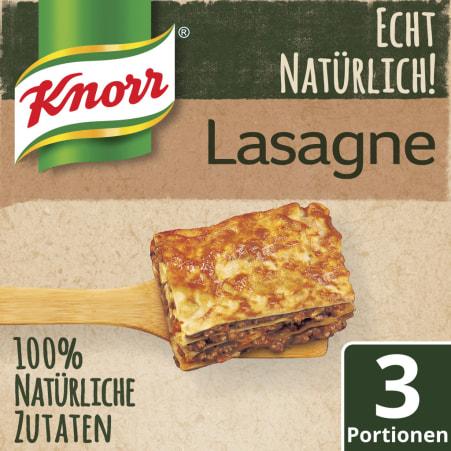 Knorr Echt Natürlich Lasagne