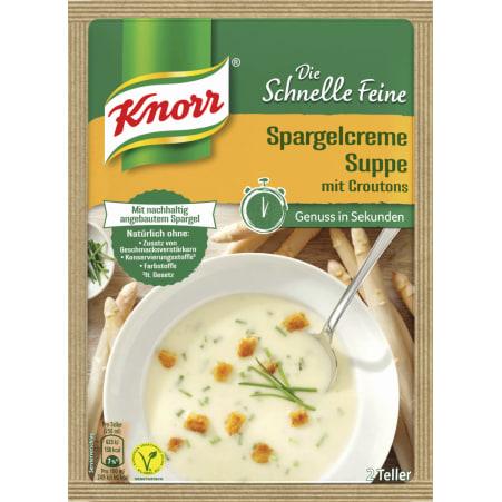 Knorr Die Schnelle Feine Spargelcremesuppe