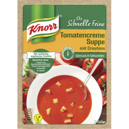 Knorr Die Schnelle Feine Tomatencremesuppe