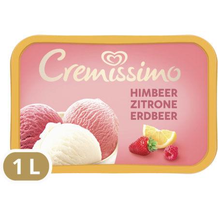 Cremissimo Himbeer-Zitrone-Erdbeer