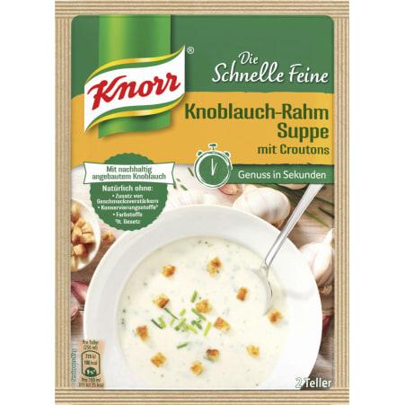 Knorr Die Schnelle Feine Knoblauch-Rahmsuppe