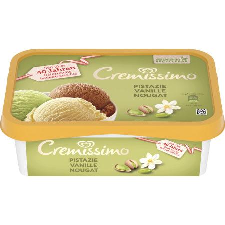 Cremissimo Pistazie-Vanille-Nougat