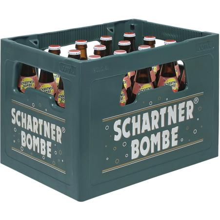 Schartner Bombe Himbeer Kiste 20x 0,5 Liter