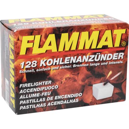 Flammat Kohleanzünder 128er-Packung