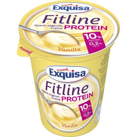 Exquisa Fitline Protein Quark-Joghurt-Creme Vanille