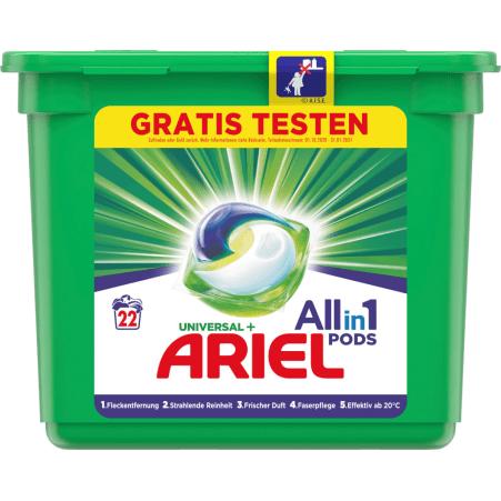 Ariel 3 in 1 Pods Vollwaschmittel 24 Waschgänge