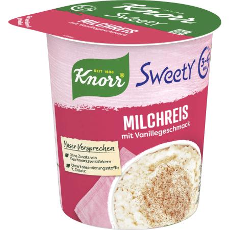 Knorr Sweety Milchreis Snackbecher