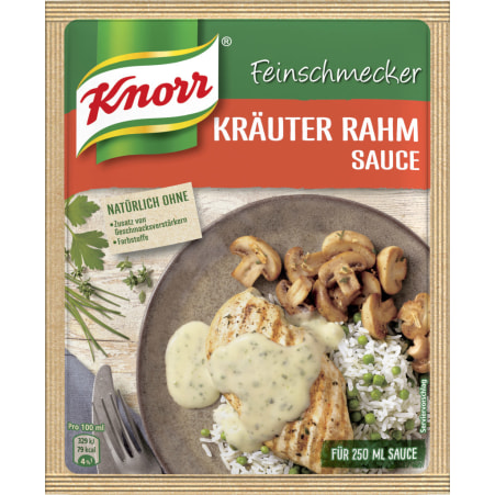 Knorr Feinschmecker Sauce Kräuter-Rahm