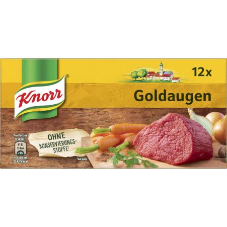 Knorr Goldaugen Rindsuppe Würfel