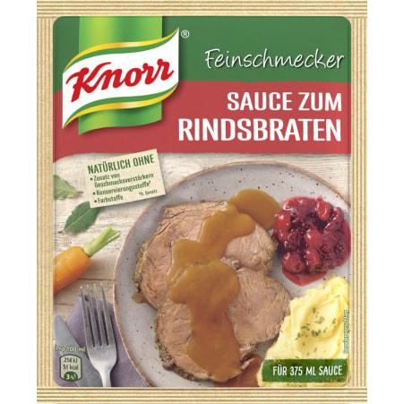 Knorr Feinschmecker Sauce Rindsbraten