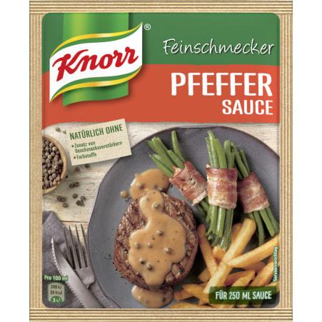 Knorr Feinschmeckersauce Pfeffer